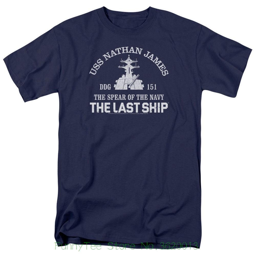 Last Ship Tv Show Open Water Licensed Adult T-shirt All Sizes