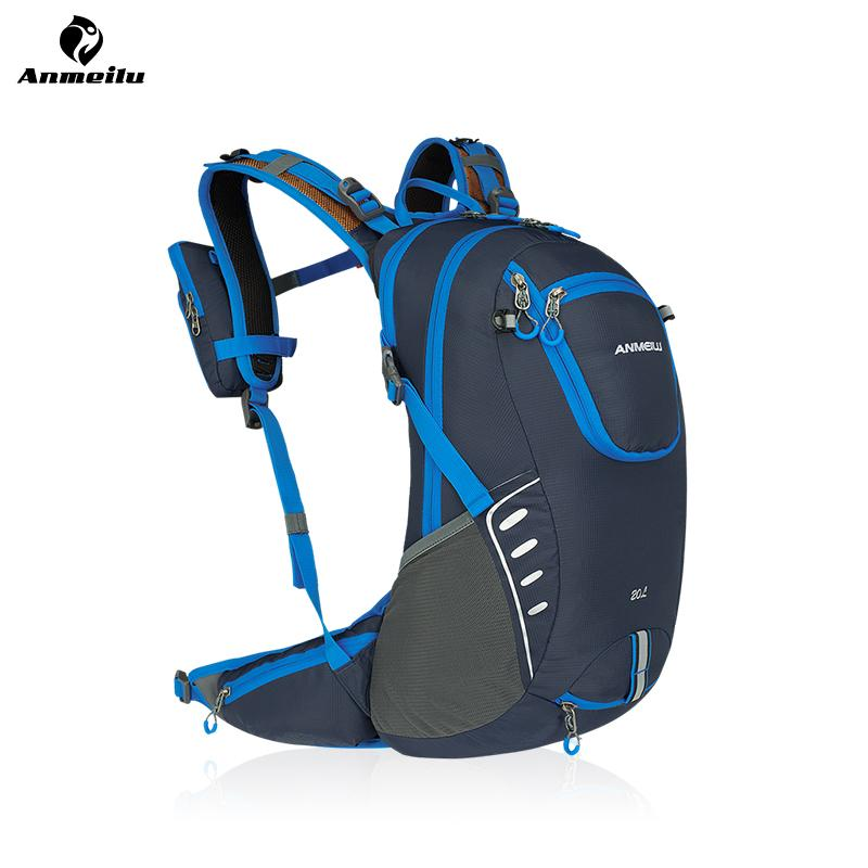 b7e4c5964eda ANMEILU Waterproof Bicycle Backpack 20L MTB Bike Cycling Hiking Hydration  Backpack Climbing Sports Bag With Rain Cover