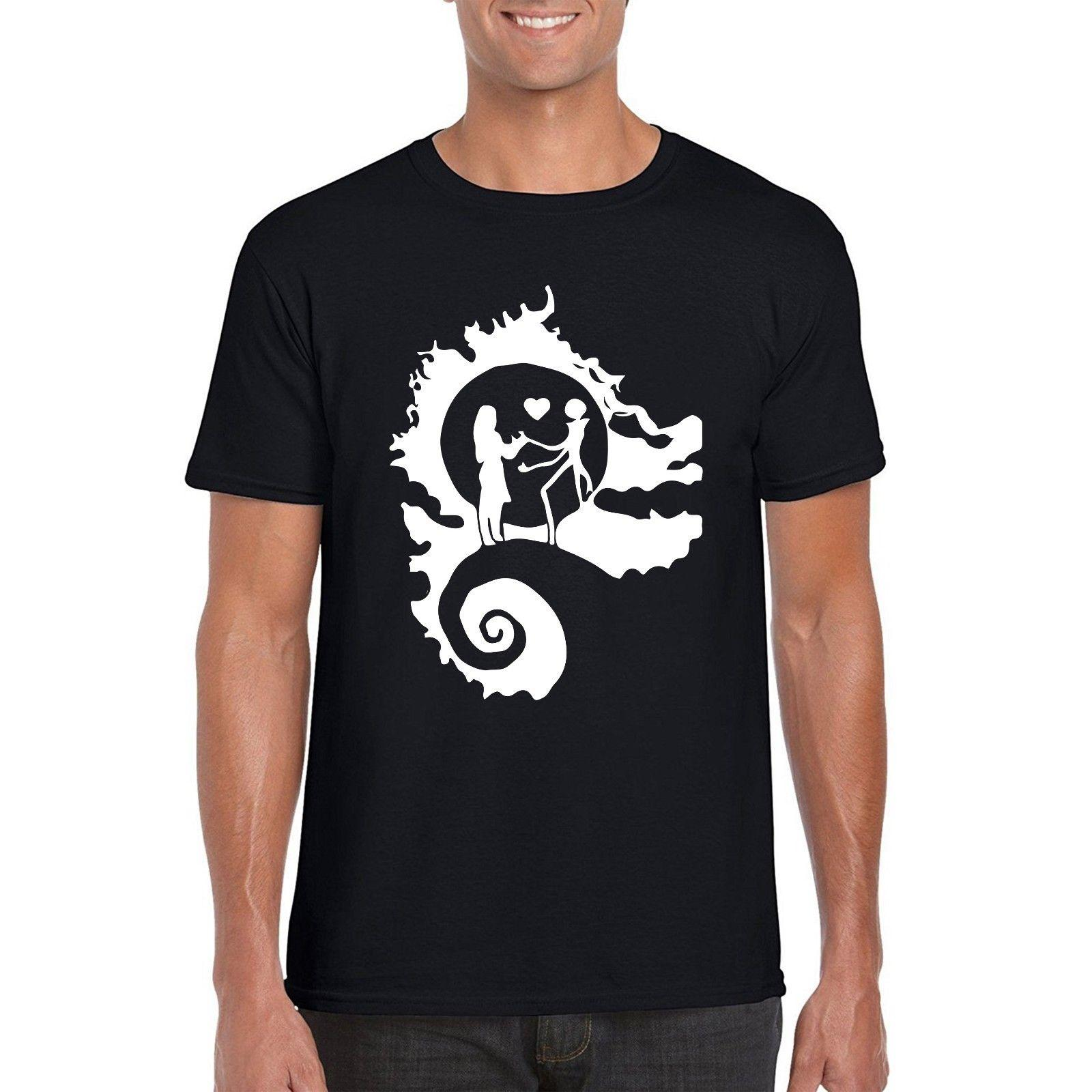 Jack Skellington T Shirt, Nightmare Before Christmas Inspired Parody ...