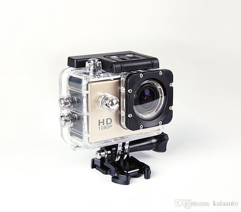 2018 뜨거운 판매 스포츠 카메라 SJ 4000 1080P 2 인치 LCD 풀 HD 방수 30m 스포츠 DV 녹화