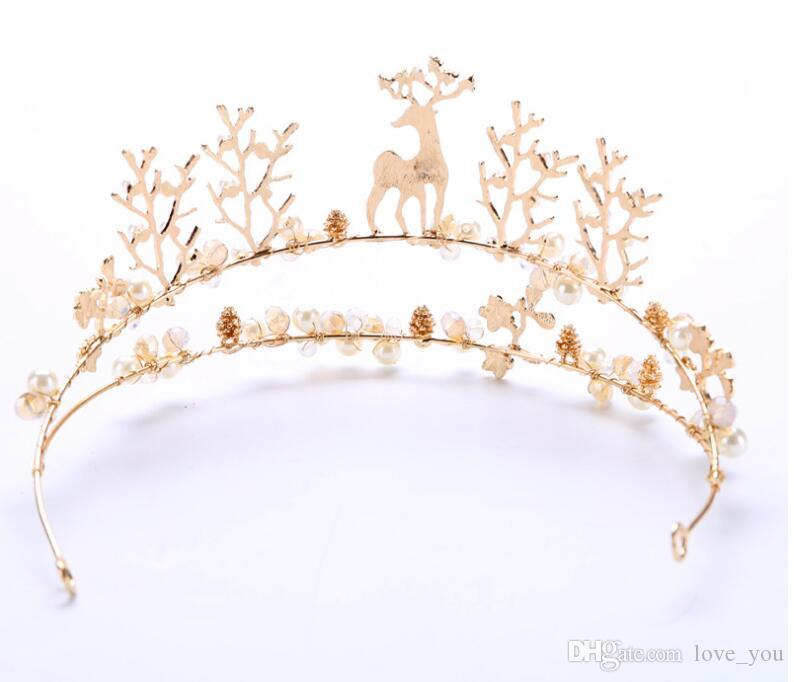 !In Stock! Low Price Dazzling Crown Party New Fashion Crystal Flower Accessories Princess Crystal Cheap High Quality