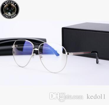 78eacecc64cb25 Acheter Gg2280 Anti Bleu Lunettes D ordinateur Transparent Lunettes Cadre  Pour Hommes Femmes Spectacle Effacer Oculos De Grau Feminino Mode Grande  Taille ...