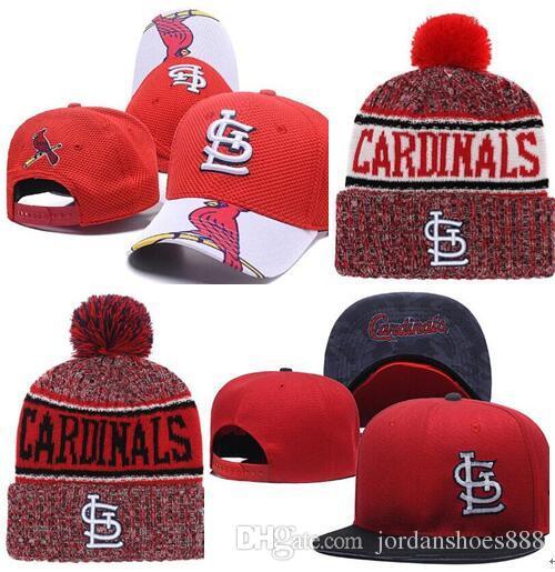 2019 Cardinals Hat Snapback Cap Champions Cardinals Beanie All Teams Men  Women Knitted Beanies Wool Hat Knit Bonnet Beanie Gorro Winter Cap Fitted  Hats ... d2130614a