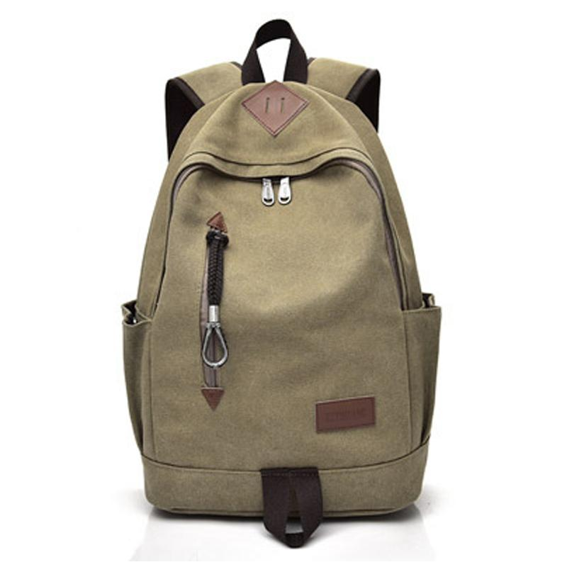 89c68ad9d7 Men s Backpack Bag New Fashion Brand Vintage Travel Light Comfort ...