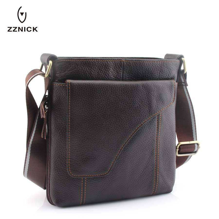 cb5c3d1c1cfe ZZNICK 2018 New Arrival Men S Genuine Leather Messenger Bag Shoulder Bags  For Men Cross Body Bag Travel Business Fashion 830  Womens Bags Camo Purses  From ...
