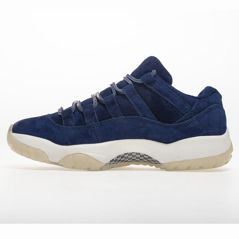 69f5f2452e98ec 2019 2018 Release 11 Low RE2PECT Derek Jeter Blue Suede 11S Man Basketball  Shoes Sneakers Authentic Real Carbon Fiber AV2187 441 HFLSXZ020 From  Sun bloom