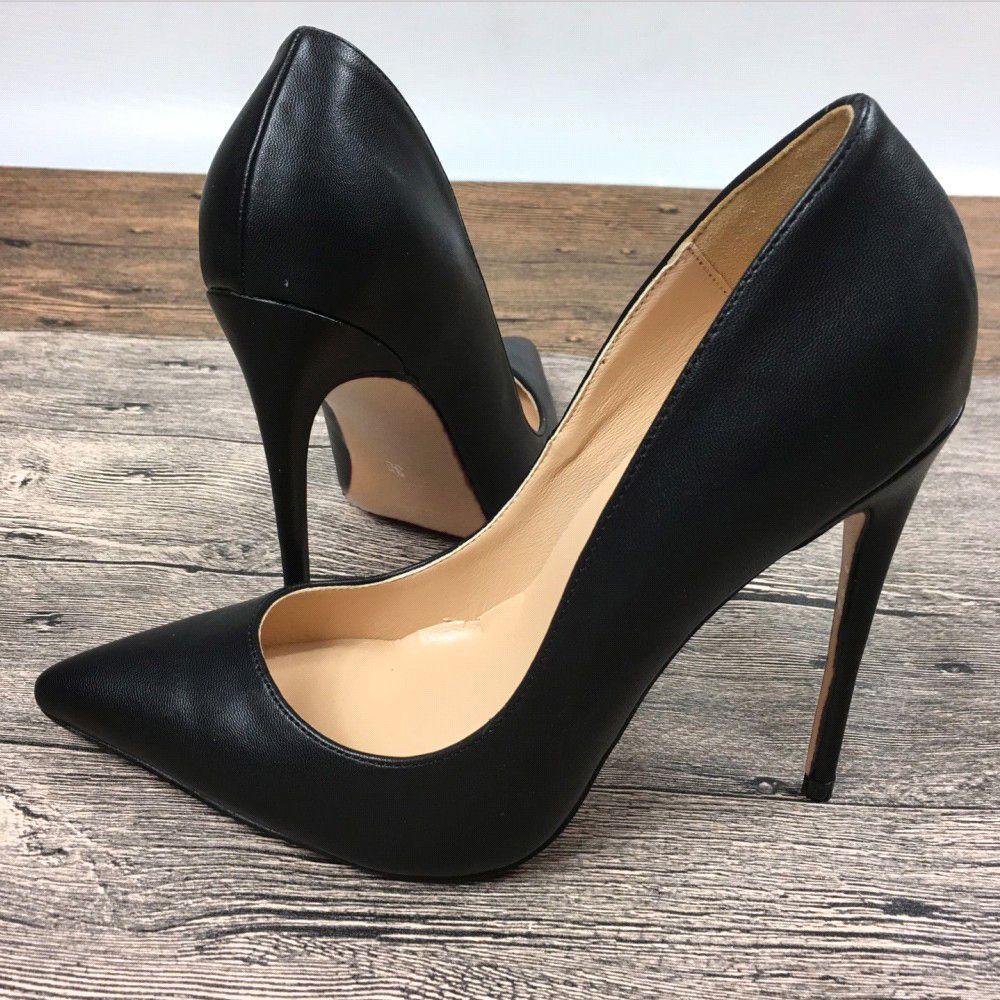 a5b85e58aa81 Compre New Black Lady Sapatos De Salto Alto Marca Exclusiva 8 Cm 10 Cm12 Cm  Feminino Sapatos De Salto Alto Profissional De Zhoushifu, $43.22 |  Pt.Dhgate.Com