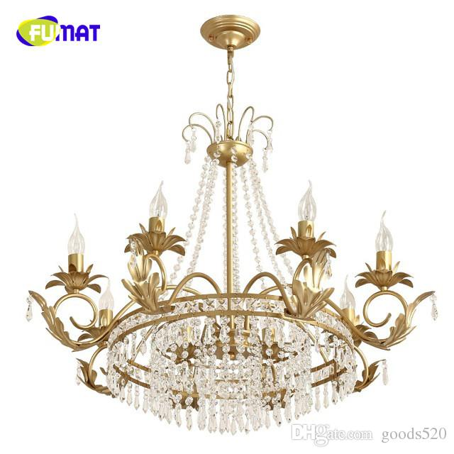 American crystal chandeliers living room restaurant luxury lamps LED crystal chandeliers Dia80cm