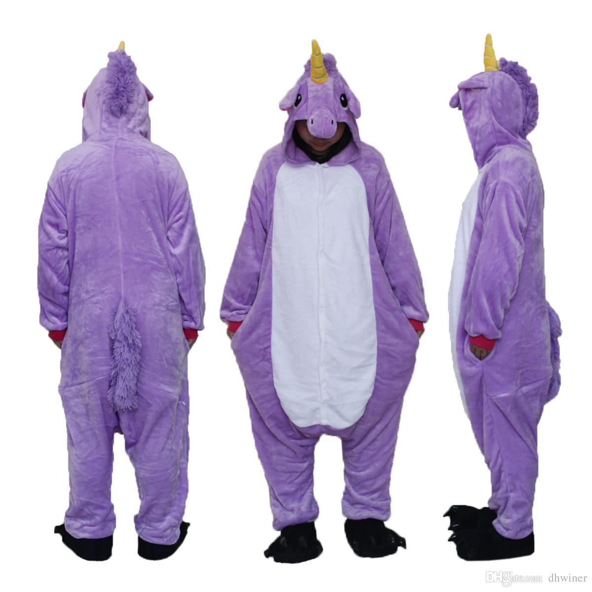Unisex Erwachsene Tier Weihnachten Onesie Pyjamas Cosplay Kostüm Loungewear