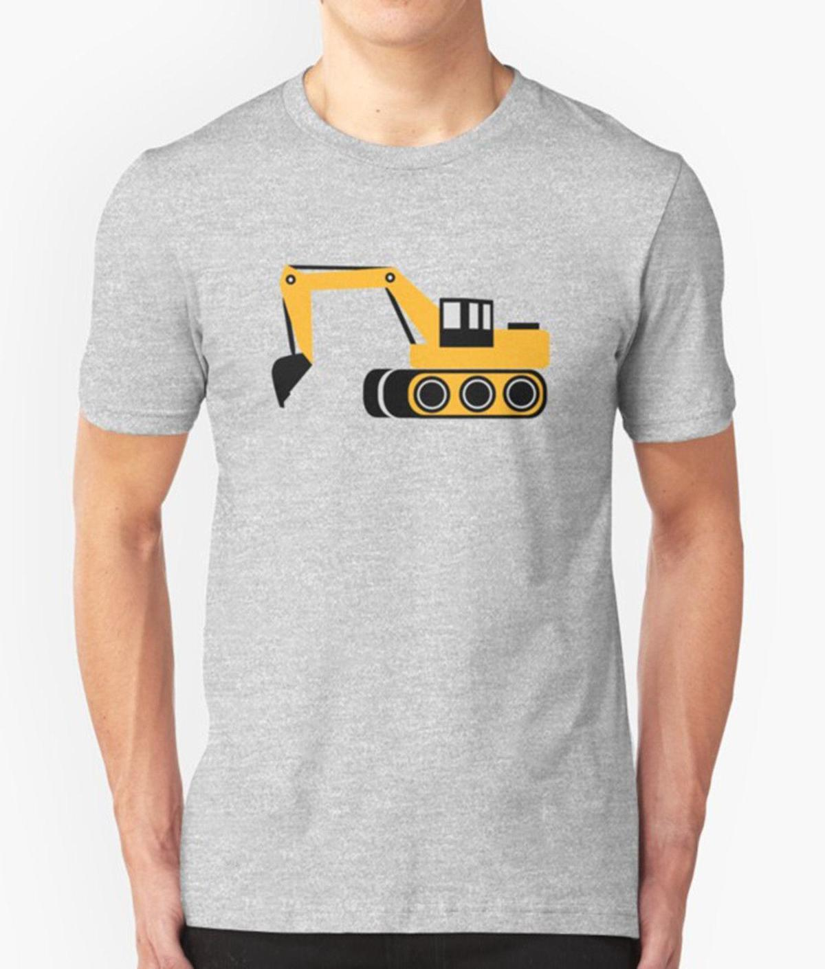 7efe07c10 EXCAVATOR T SHIRT CONSTRUCTION TRACTOR DIGGER UNCLE BROTHER DAD BIRTHDAY  PRESENT Mens Funny T Shirts Buy Shirts From Amesion10ljl, $12.08| DHgate.Com