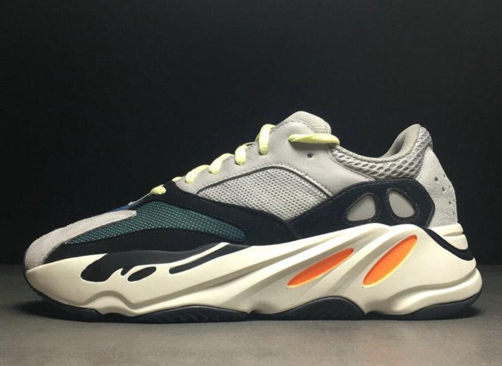 check out 9fde7 eeb1e Nuevo Descuento Kanye West 700 Boost Zapatos Corrientes De La Mejor Calidad  Clásica Con Wave Runner 700 Aumenta Zapatos De Moda De Moda Zapatillas Us5  Us12 ...
