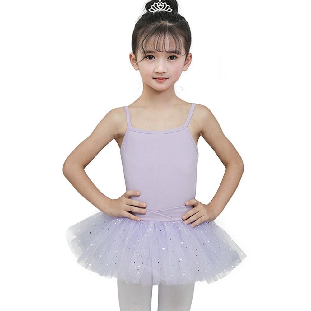 4d8c915a53 Compre EFINNY Lantejoulas Estrela Ballet Dance Wear Vestido Belo Ginástica  Leotard Tutu Vestido Meninas Bailarina De Fadas Do Partido Do Traje De  Baile De ...