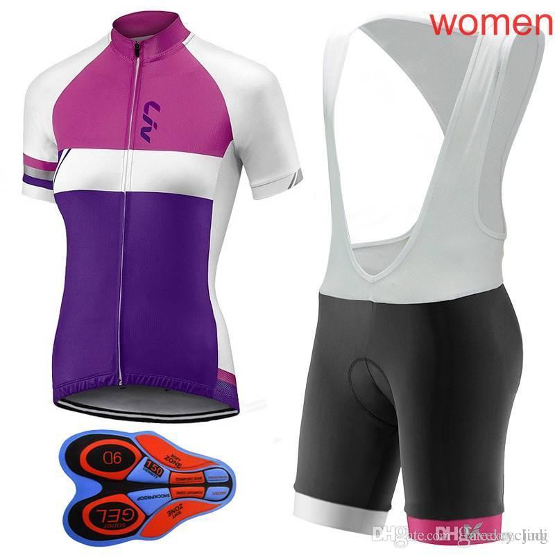 2018 LIV Cycling Clothing Mujer Maillot Ciclismo Bike Short Sleeve Summer  Quick Dry Women Pro Cycling Jerseys Mtb Bib Shorts Set L2001 LIV Cycling  Bike ... 55dc90697