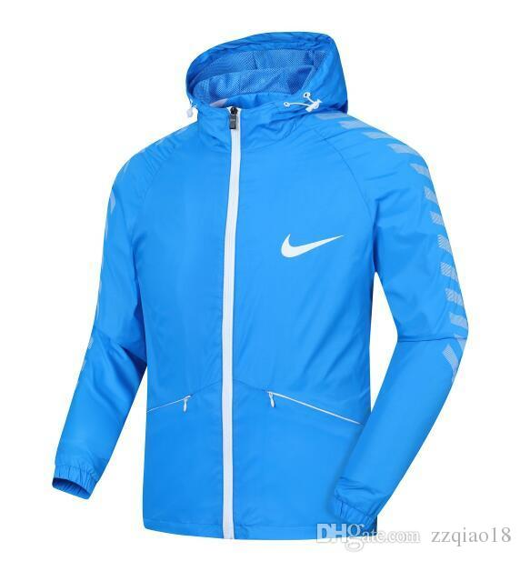 332ffe360c NIKE 2018 Fashion L 4XL Brand Men Windrunner Jacket Thin Jacket Coat ...