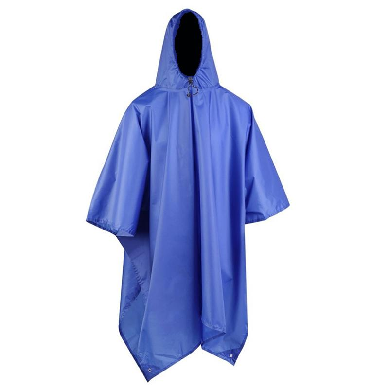08c86d580c87 3 In 1 Waterproof Man Raincoat Outdoor Travel Rain Poncho Jackets Backpack  Awning Rain Cover With Carry Bag Poncho Gear Girl Raincoats Kids Rainpants  From ...