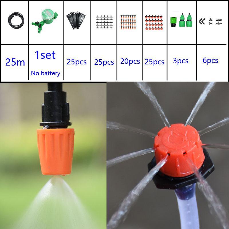Grosshandel Automatische Bewasserung System 2 Wege Bewasserung Kit