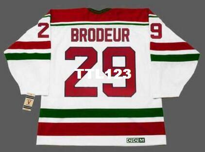 2019 Mens  29 MARTIN BRODEUR New Jersey Devils 1992 CCM Vintage Home Hockey  Jersey Or Custom Any Name Or Number Retro Jersey From Ttl123 402096ef6