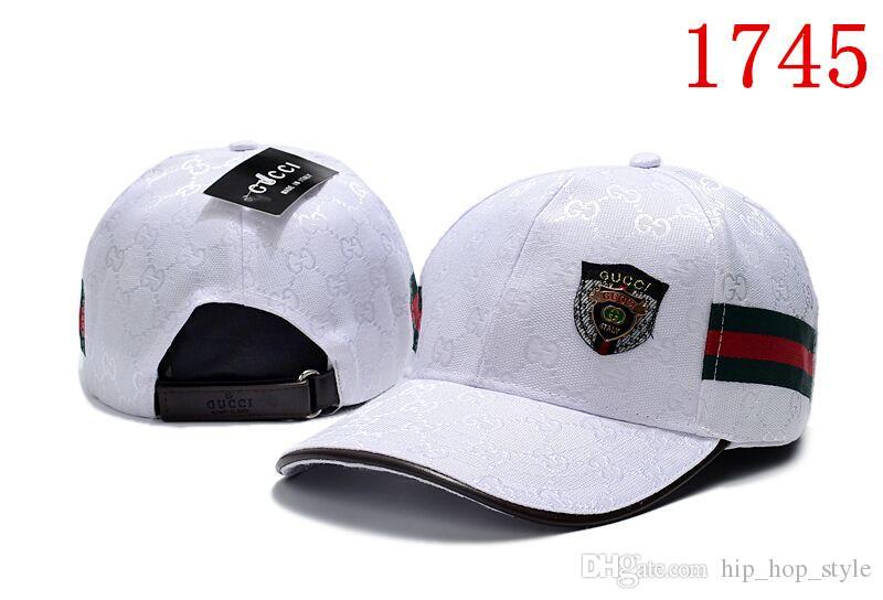 e01753c84475a 2018 High Quality Sports Luxury Designer Men Cap Cheap Wholesale Price  Snapback Hats Casquette Dad Hat Adjustable Bone Baseball Caps Caps Lids  From ...