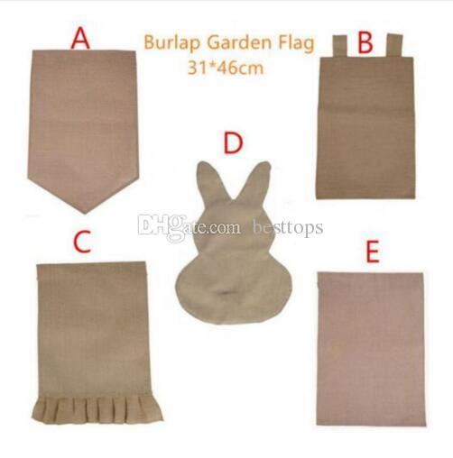 Burlap Garden Flag 31*46cm Halloween Jute Ruffles DIY Linen Yard Hanging  Flag House Decoration Portable Banner 5 Styles Burlap Garden Flag Garden  Flag House ...