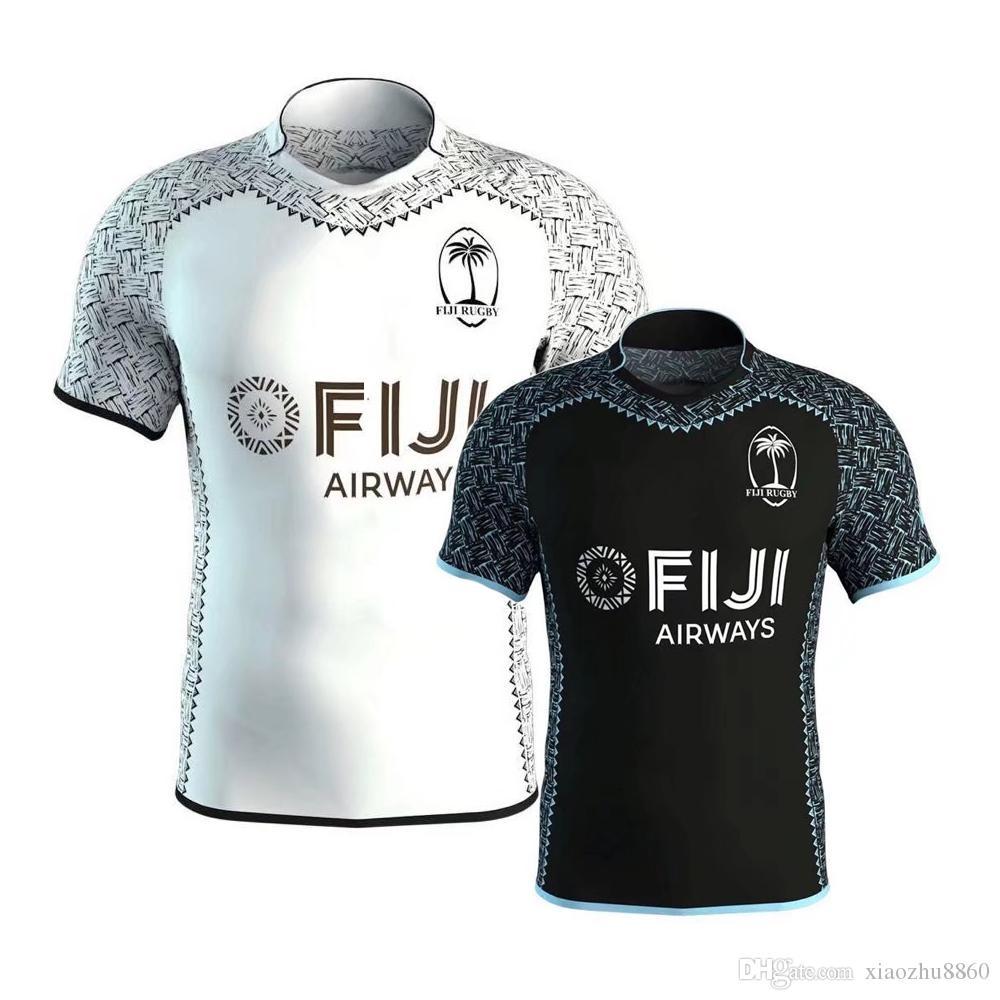 Compre 2019 Fiji Camiseta De Rugby Blanca Para El Hogar 2018 2019 Fiji  Rugby Camiseta Blanca 18 19 Maillot Maglia Adultos Camiseta Alternativa  Para Hombres ... 8b8eb95ca72f2
