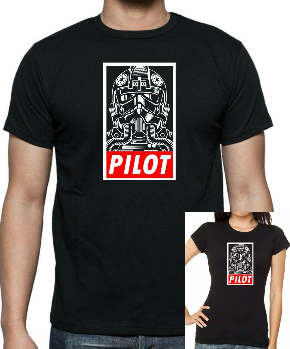 9cdf47f86 IMPERIAL TIE FIGHTER PILOT T Shirt Up FREE UK POST Unisex Funny High  Quality Casual Printing Gift Biker T Shirts Make Your Own T Shirts From  Happyluke, ...