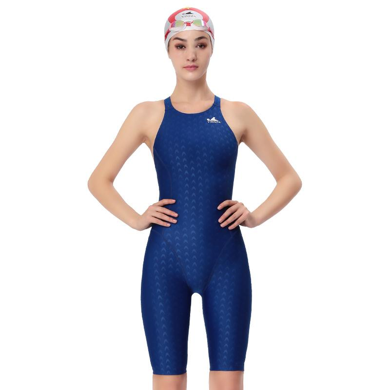 69c9f38ca895a 2019 Yingfa 2017 New Professional Sport Swimsuit Plus Size 3XL Racing Swimwear  Women Sharkskin One Piece Competitive Swimming Suit From Dreamcloth, ...