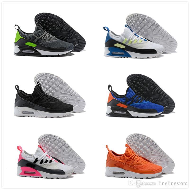 Gris Rouge Sports Course Nouveau Eur40 Chaussures Pour Air Blanc Hommes En Plein 45 Noir Ez Nike Sneakers Respirant 90 Mans Coussin De mONPvw8ny0