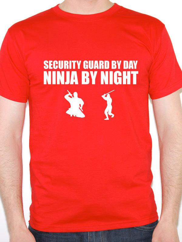 9ff2a019 Funny Security Guard T Shirt SECURITY GUARD BY DAY NINJA BY NIGHT Gift Idea  Print Shirt Long Sleeve Tee Shirts From Tomseng, $11.01| DHgate.Com