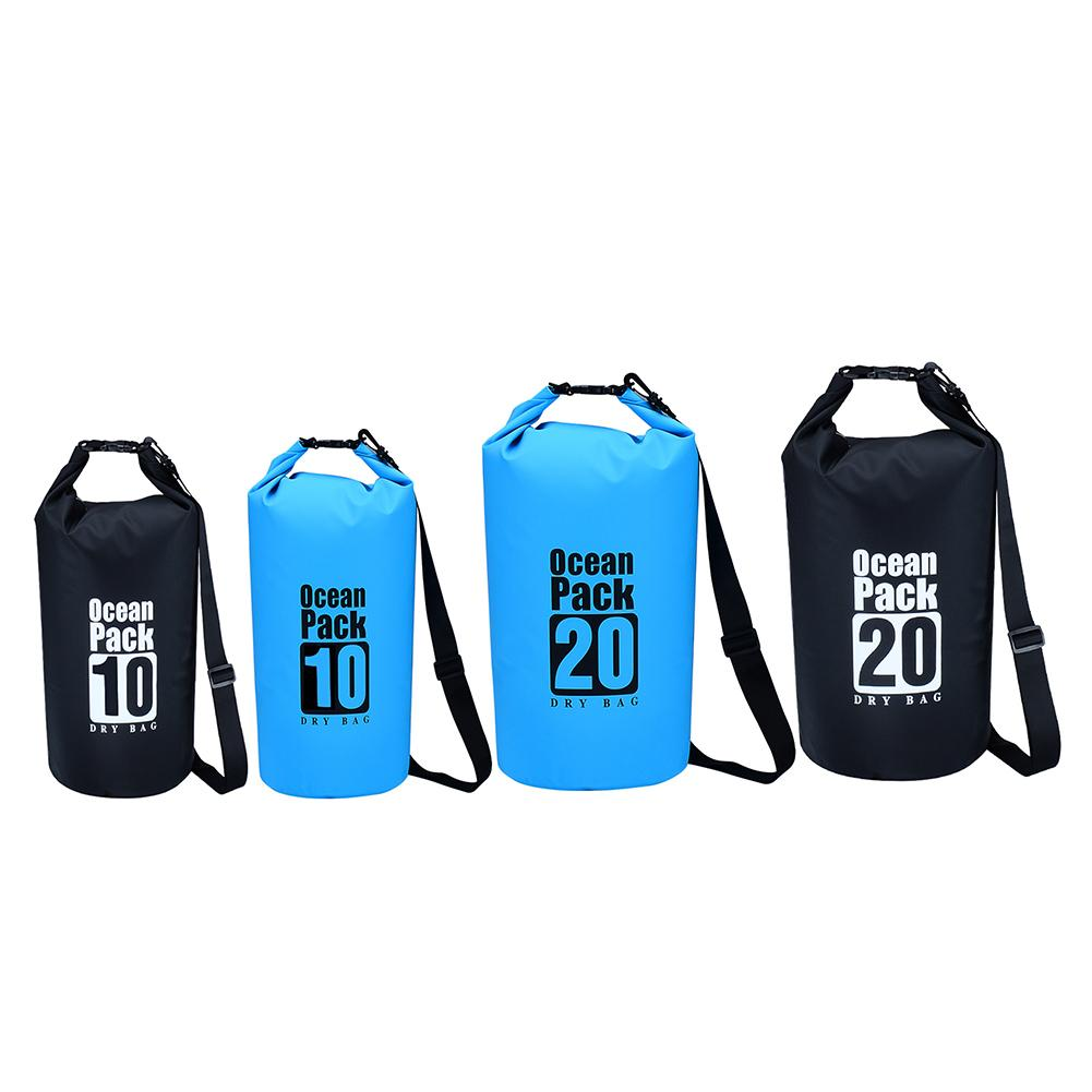 2019 Ultralight Swimming Dry Bag Outdoor Nylon Kayaking Beach Storage  Drifting PVC Waterproof Camping Rafting Bag 10L 20L From Qingfengxu afd031b556abe