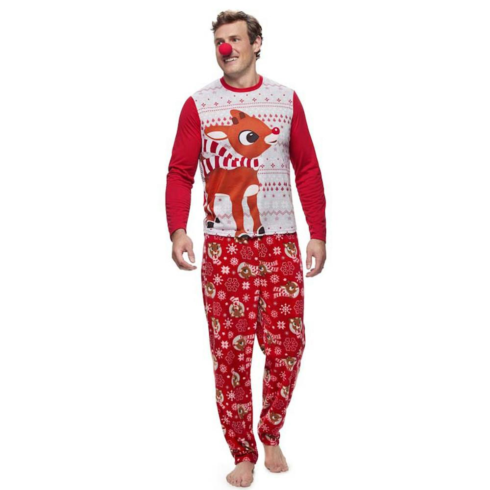 14c8fca29d Compre Nueva Llegada Hombres Blusas De Reno Blusa Pantalones Familia  Pijamas Ropa De Dormir Trajes De Navidad Set2018 A  36.75 Del Balsamor