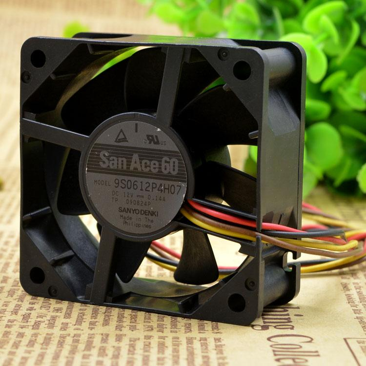 For original Yamaha 9S0612P4H07 6CM 12V 0.14A 6025 ultra-quiet cooling fan