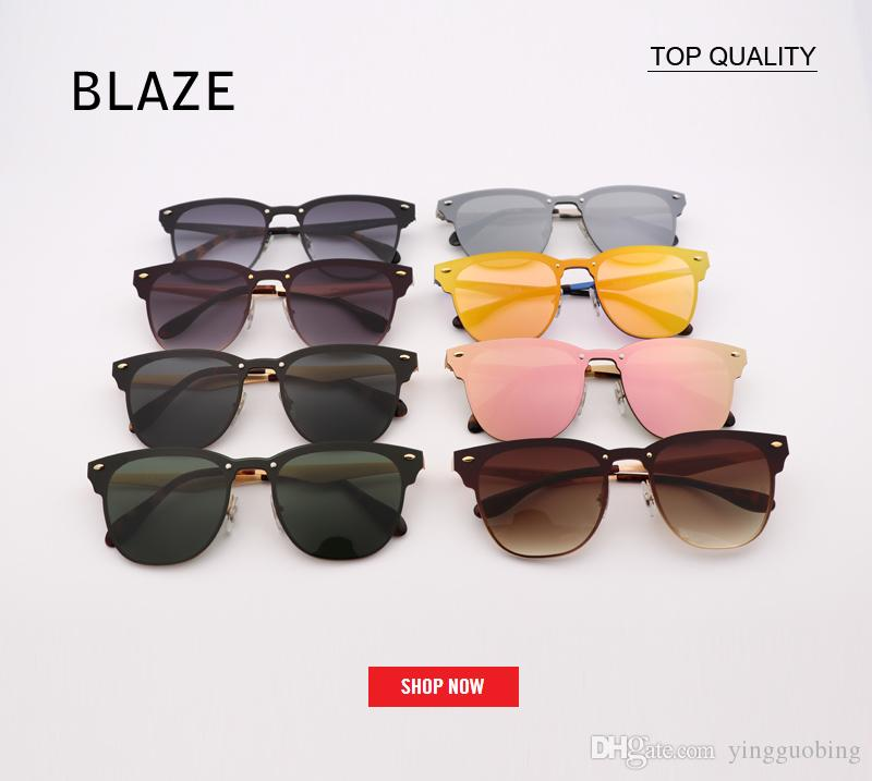 95fd55a37e Top Quality Luxury Brand Designer Clubs 3576 Sunglasses UV400 Blaze Rose  Gold Top Flat Lens Coating Half Frame G15 Lentes Mujer Flash Gafas Tifosi  ...