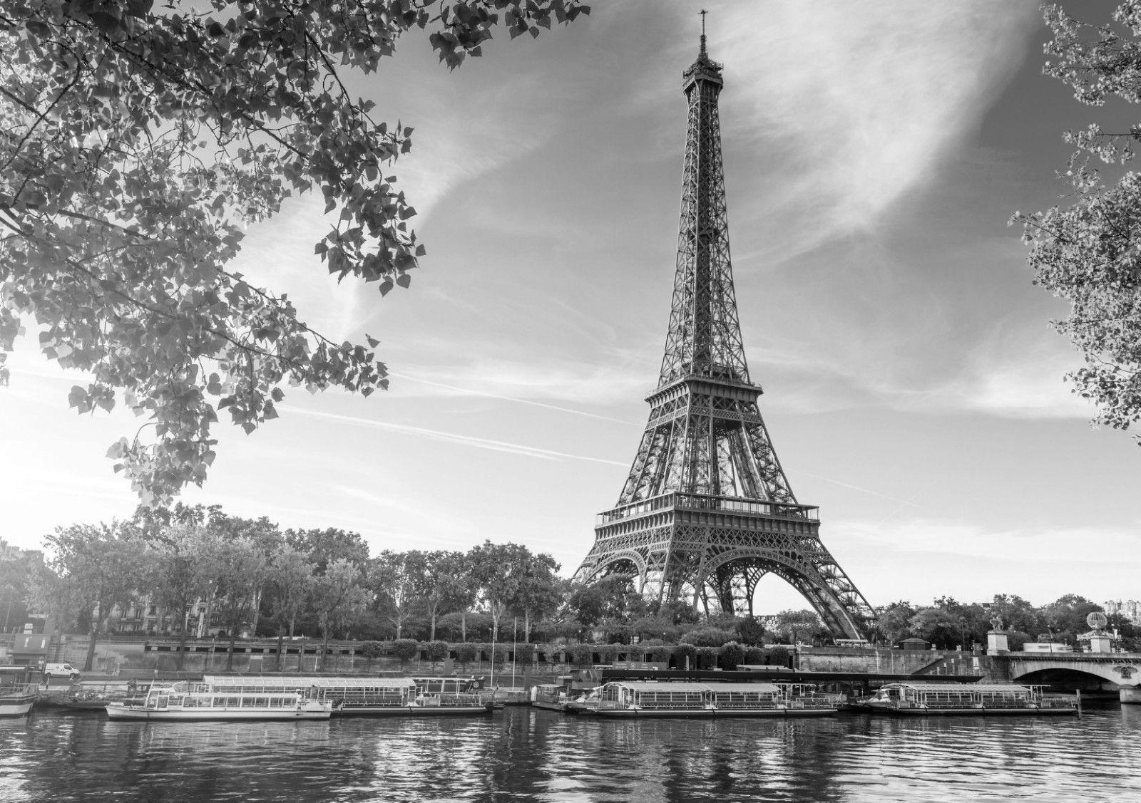 Eiffel tower paris landscape black white art silk poster 24x36inch 24x43inch wall accents decals wall accents stickers from wangzhi hao8 12 05 dhgate