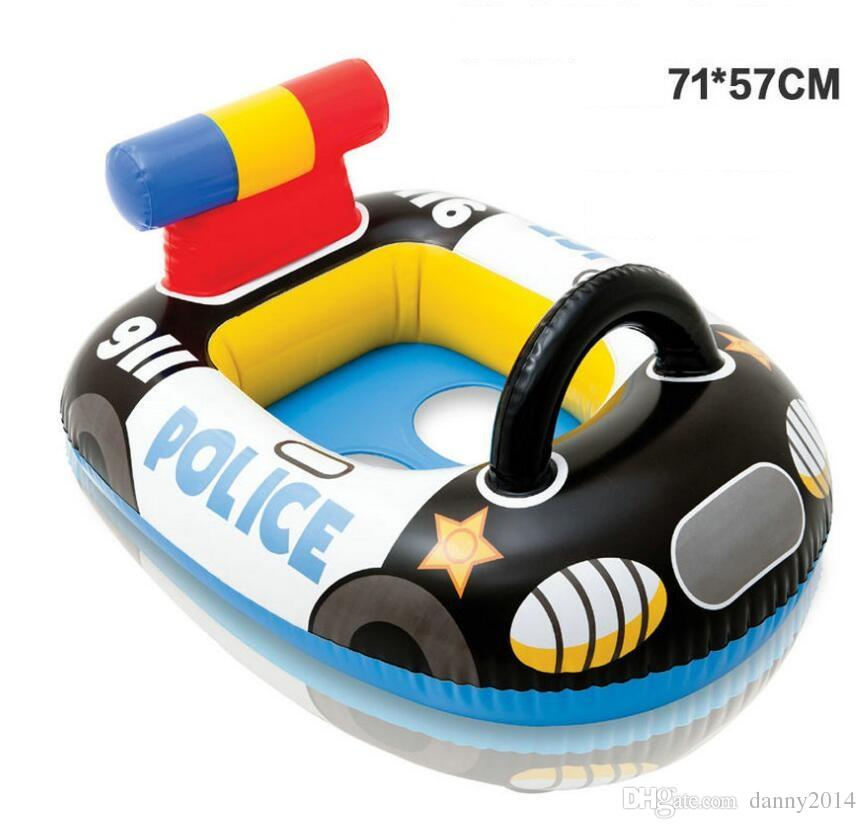 Cartoon car airplane baby ring floating ring swimming laps swim ring life buoy child seat Float in the pool baby float mattress toy