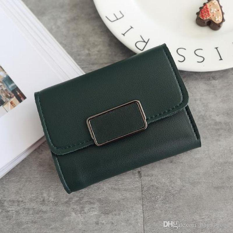 New 2018 Red Wallets Purse Clutch Bags Classic Brand Short Wallet Gifts For Men Women Designer mini Coin Purses