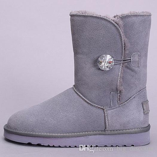 Hot Sale Original WGG winter Australia Classic snow Boots UGS tall boots  Bailey Bowknot women bailey bow Knee Boots men Designer Shoes 36-41