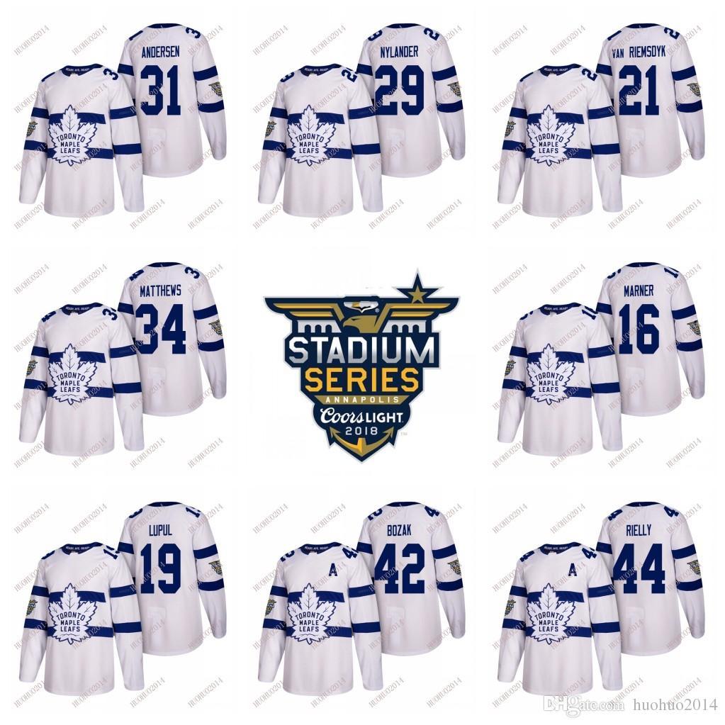 fc29c9e53 2019 2018 Stadium Series Toronto Maple Leafs Hockey Jerseys Youth Auston  Matthews Marner Marleau Nylander Brown Rielly From Huohuo2014, $34.52 |  DHgate.Com