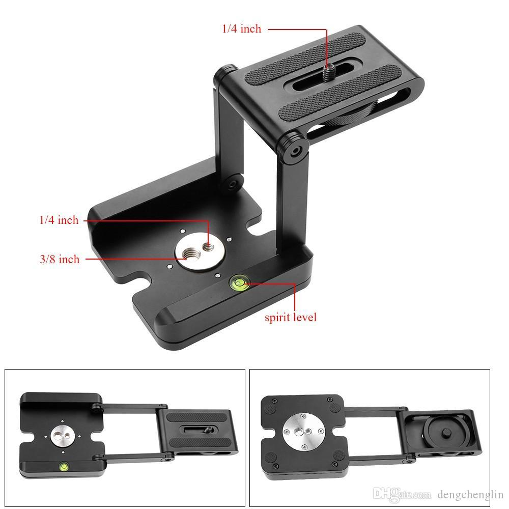 Kamera Fotografie Track Slide Z-Typ Aluminiumlegierung PTZ Stativmontage Vibration PTZ Micro Frame Kostenloser Versand