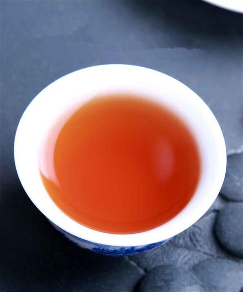 Sıcak satış 250g Çin Organik Siyah Çay Büyük Kırmızı Robe Dahongpao Wulong Oolong Çay Sağlık Yeni Pişmiş Çay Yeşil Gıda