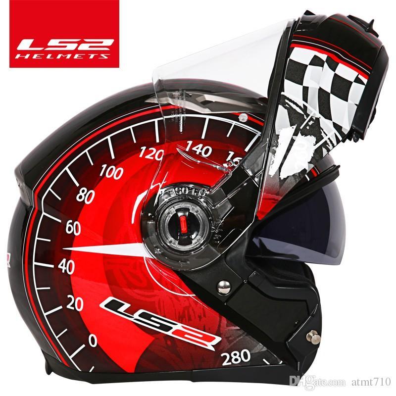 Acheter Ls2 Global Store Ls2 Ff370 Casque Moto Casco Racing Flip Up