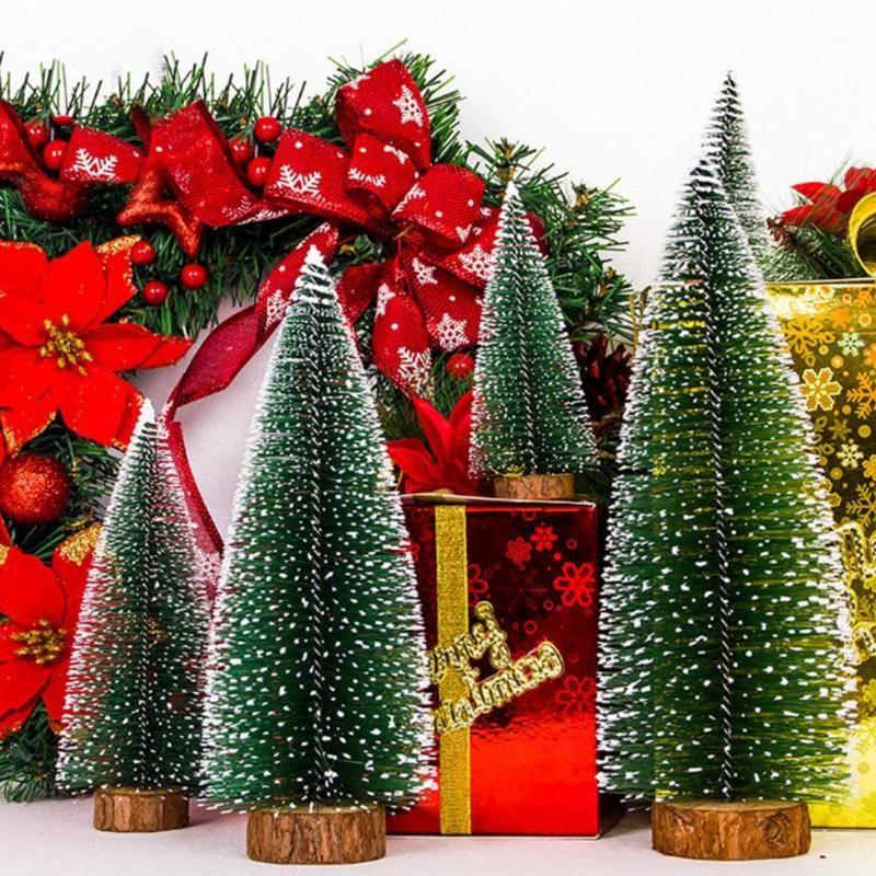Großhandel Simulation Mini Weihnachtsbaum Ornament Home Weihnachten ...