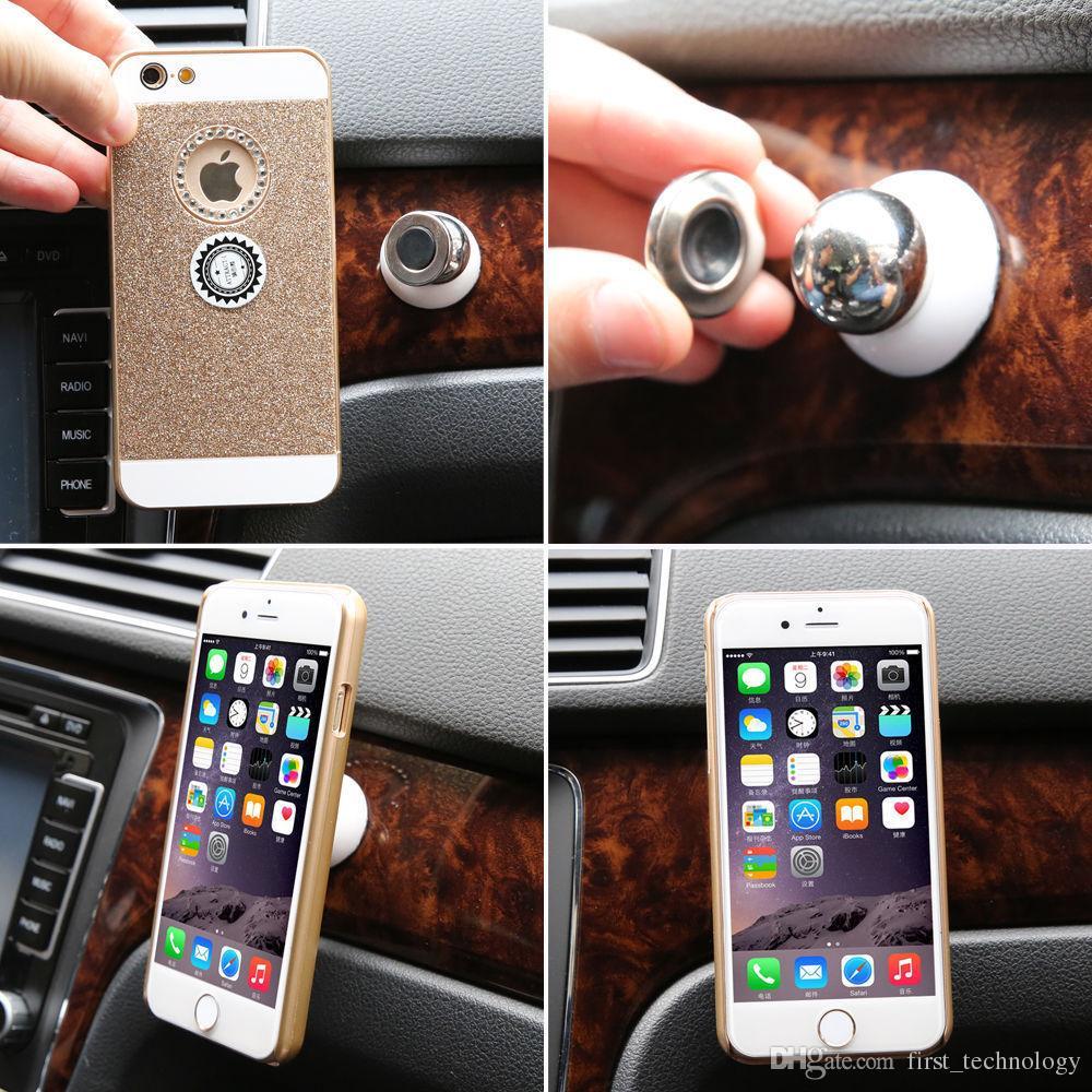 뜨거운 범용 자동차 전화 홀더 자기 통풍구 마운트 휴대 전화 자동차 휴대 전화 홀더 스탠드 모바일 액세서리