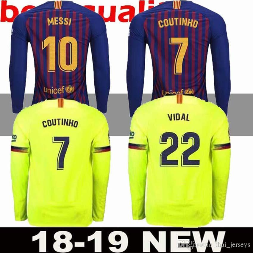 ae63a6e984b greece barcelona 11 o.dembele third soccer club jersey b3b30 96496   inexpensive 2018 2018 top best quality barcelona jersey 18 19 messi long  sleeve adult ...