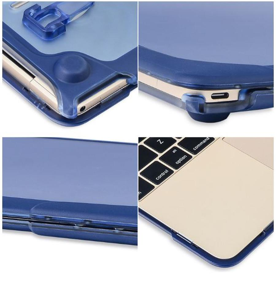 For Macbook New Air 11 A1465/A1370 13 A1369/A1466 retina 12 A1534 13 A1502/A142513 A1706/A1708 15 A1398 Pro Full Protective Cover Case