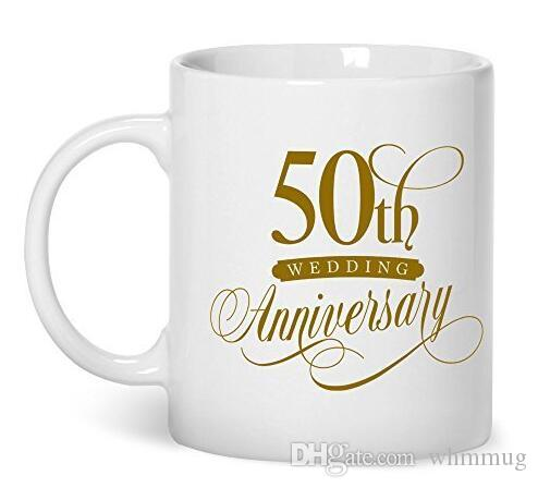 50th Wedding Anniversary 50th Anniversary Gifts For Her 11 Oz