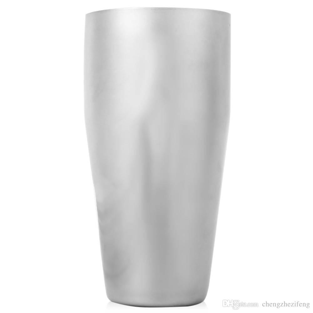 Cocktail Shaker Set professionale in acciaio inox Cocktail Maker Jigger Ice Setaccio cucchiaio strumento cucchiaio bar