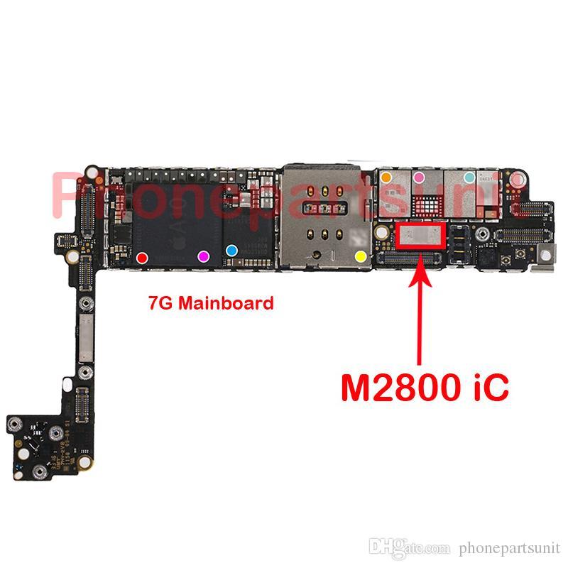 5 pz / lotto Originale Nuovo M2800 IC iPhone 7 7G 4.7