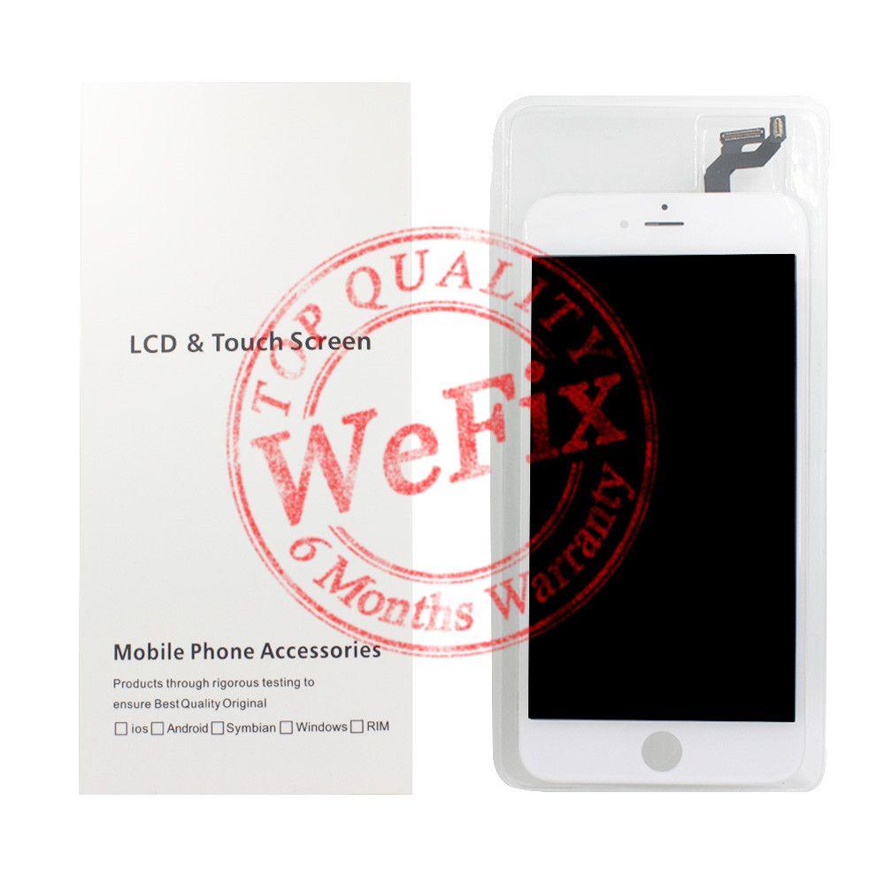 Lcd display für iphone 7 7 plus 6s 6s plus hochwertige touch digitizer rahmen montage reparatur für freies dhl versand