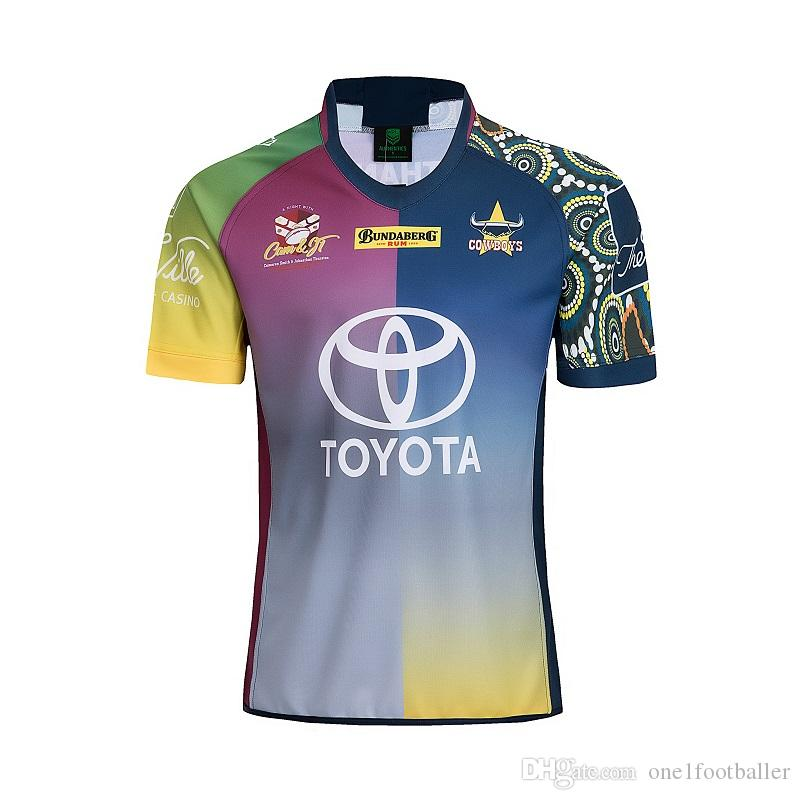 74427233c88 2019 Best Quality ! TESTIMONIAL COWBOYS Jersey 2018 2019 Jt Testimonial  Rugby Jerseys Shirt Nrl Jersey Cowboys Shirts S 3xl From One1footballer, ...