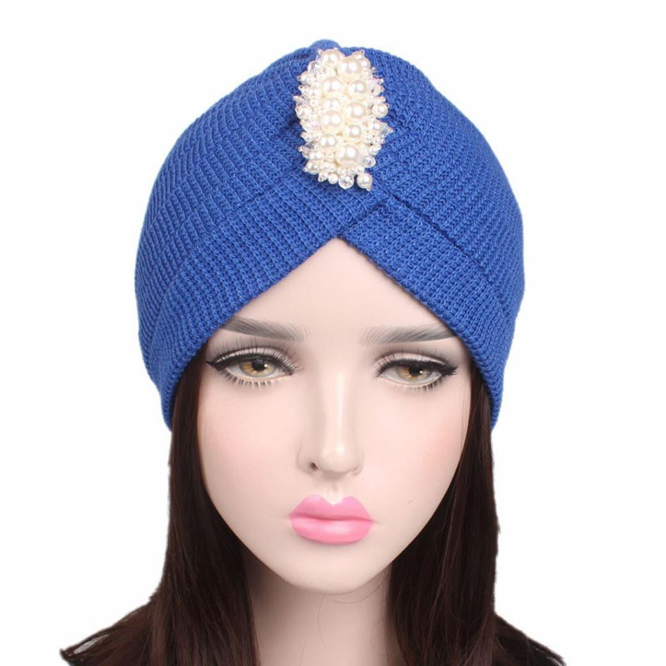 Women Ladies Knitting Cancer Hat Beanie Turban Head Wrap Cap Pile Cap Hot  Sale New Winter Faux Fur Knitted Hats 2018 Sun Hats Sun Hat From Zaonoodle 906f1e34f57